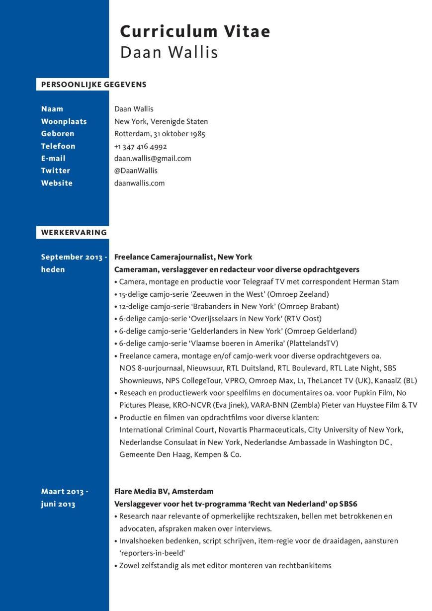 Daan Wallis CV-page-001